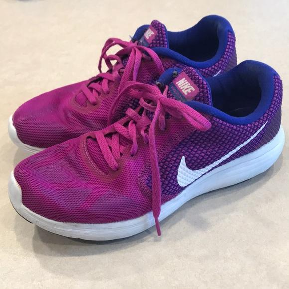 Nike Revolution 3 Purple Pink Sneakers